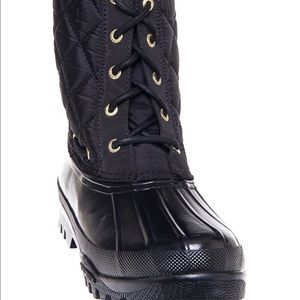 Sperry Top-Sider Shoes - Sperry Top-Sider Gosling Black Quilted Boots 6.5 M